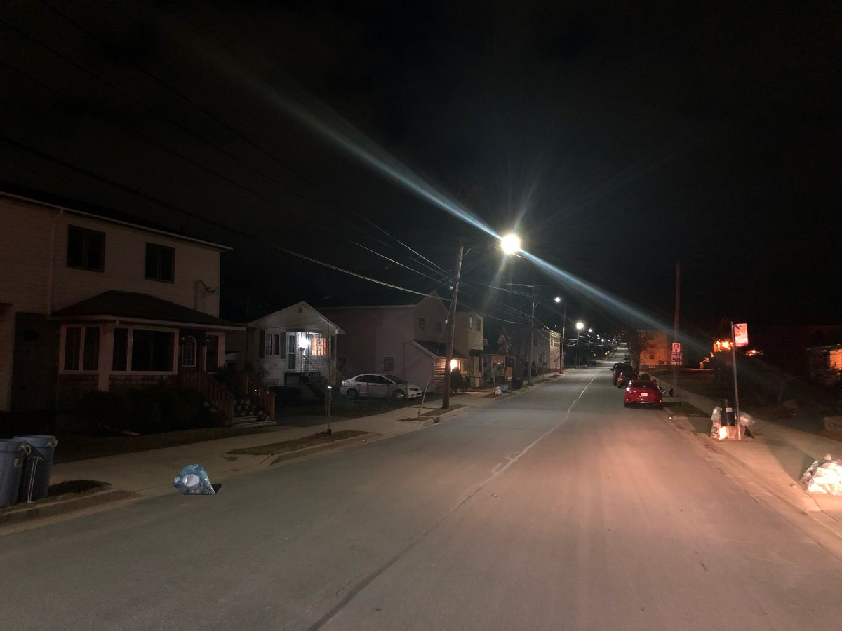 Halifax police officers were called to Gaston Road after several witnesses heard what was thought to be shots fired in the area.