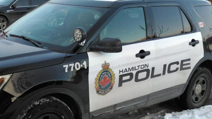 A Hamilton police cruiser is seen in a file photo.