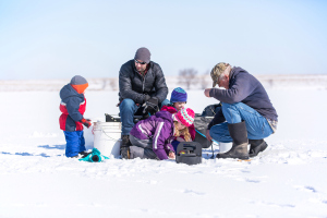 From February 13-15, fishing licences won't be needed across Manitoba, except in national parks.
