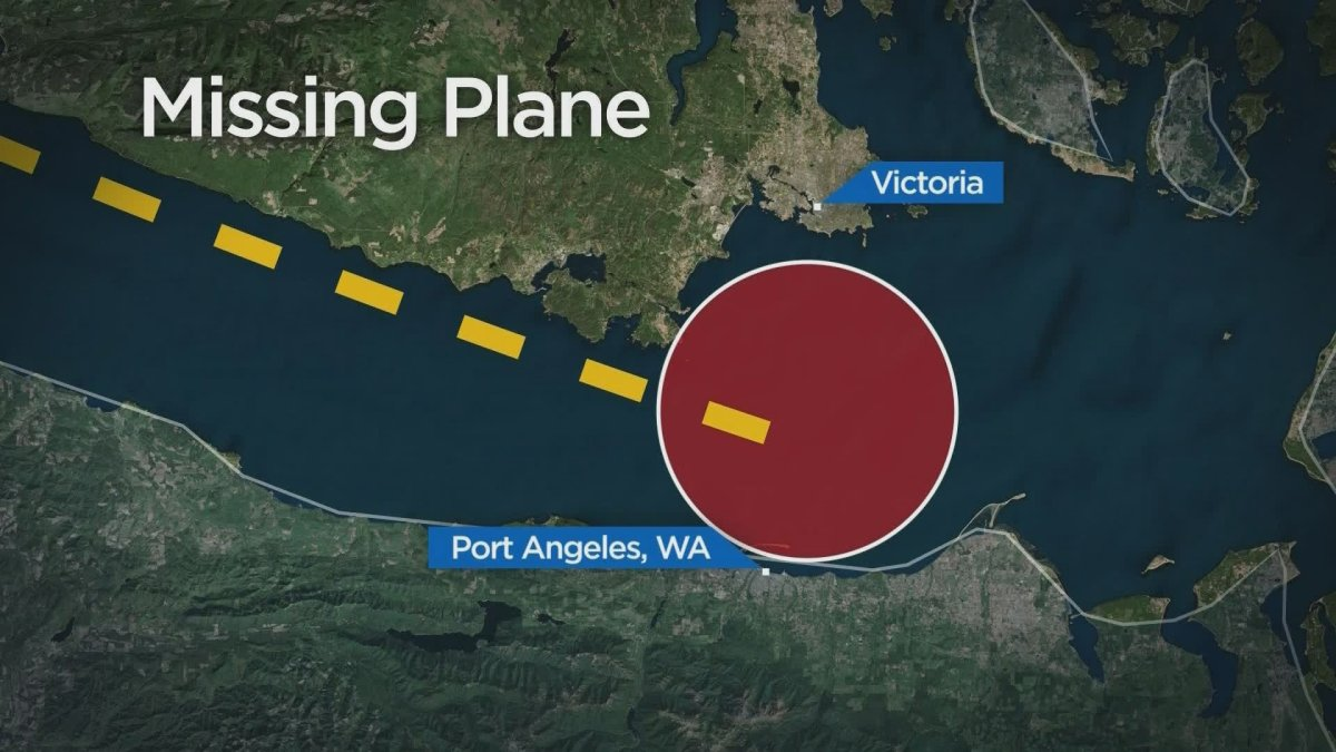 The search for a small plane missing between Victoria, B.C. and Port Angeles, Wash. has been suspended.