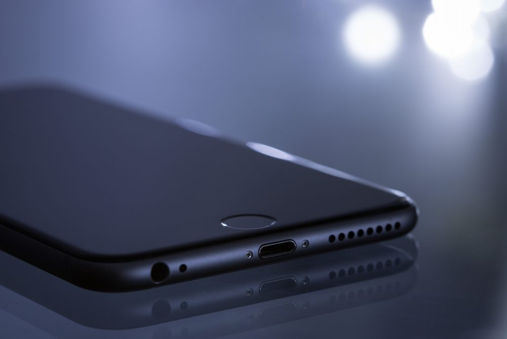 A smartphone is shown in this file photo.