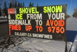 Continue reading: City of Calgary sees an increase in complaints about snow on sidewalks