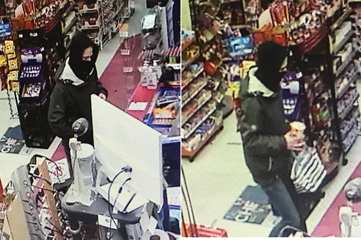 Waterloo Regional Police say they are looking to speak with this woman in connection to an early morning robbery in Kitchener.
