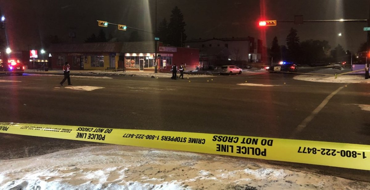 A man was hit by a vehicle in southeast Calgary on Tuesday, Jan. 26, 2021.