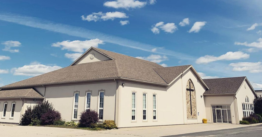 The Trinity Bible Chapel in Woolwich, Ont.