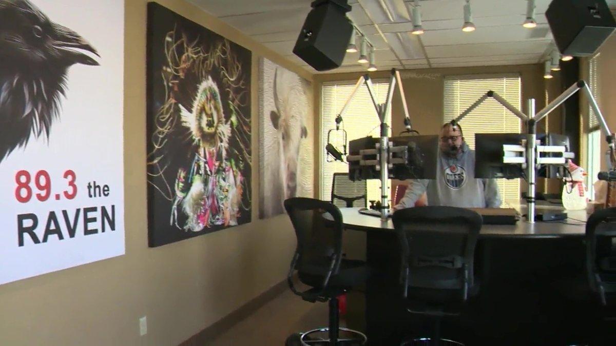 The Raven 89.3 FM launches in Edmonton. Feb. 1, 2021.