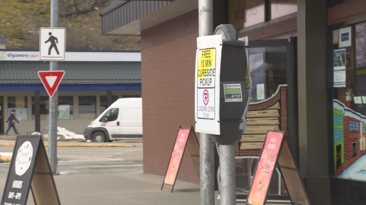 Some Vernon businesses say a pilot parking program is helping them reach customers looking for curbside pickup during the pandemic.