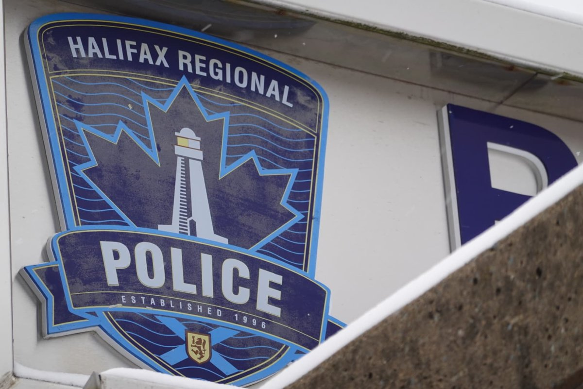 File - The sign at the Halifax Regional Police headquarters on Gottingen Street on Feb. 20, 2021.