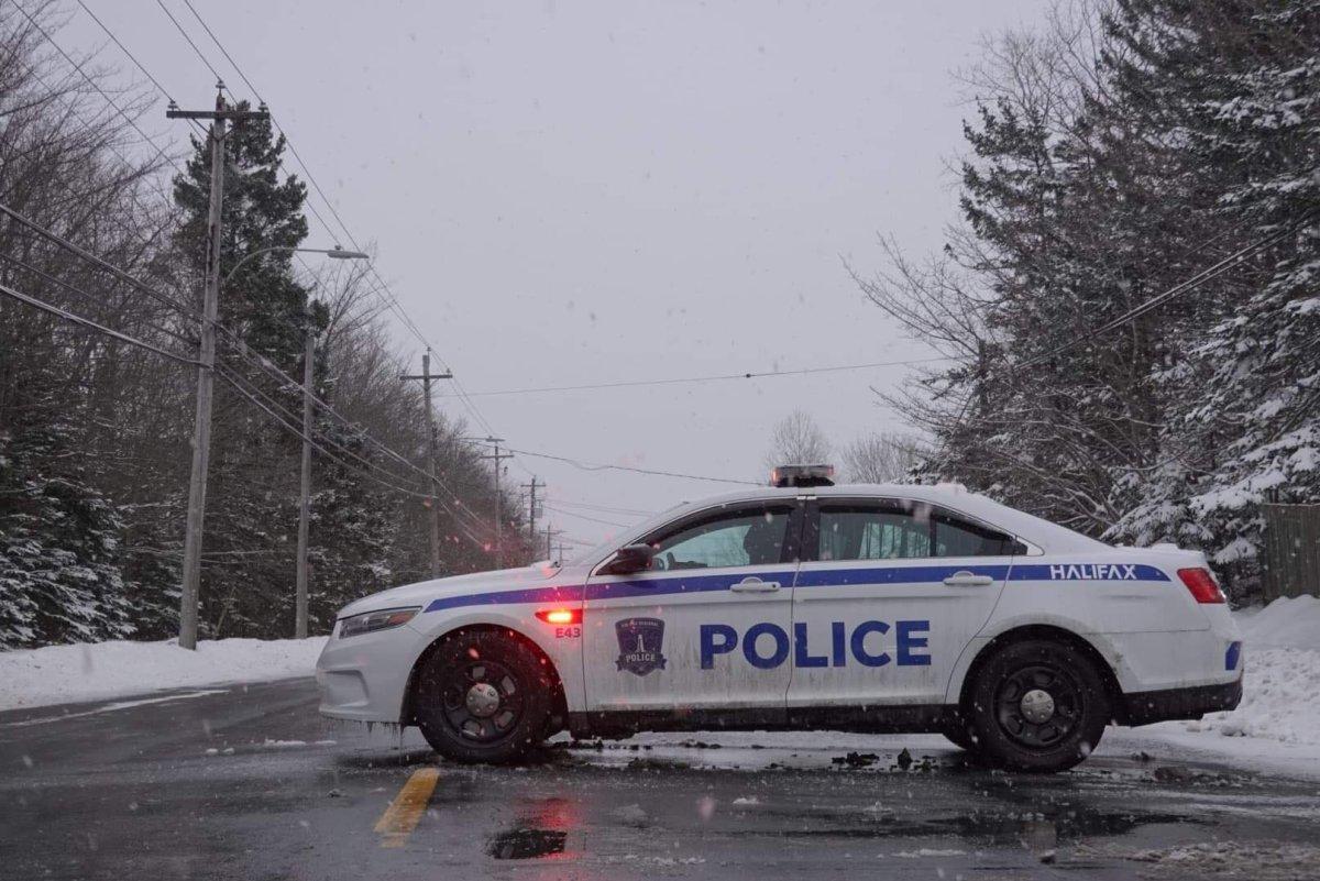 File - A Halifax Regional Police cruiser on Mount Edward Rd. in Dartmouth on Feb. 20, 2021.