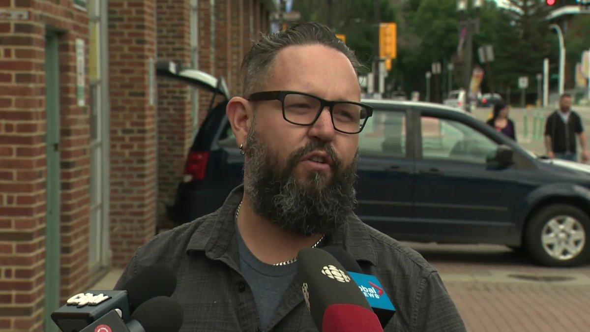 A file photo of Adam Mitchell, executive director of the Edmonton International Fringe Theatre Festival.
