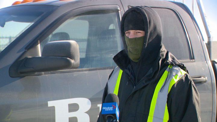 Corie Rempel volunteered around 40 hours of his own time this week boosting vehicles around Regina.