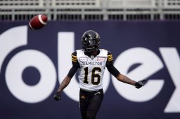 Continue reading: Tiger-Cats star threatens to 'retire' if 2021 CFL season is scrapped