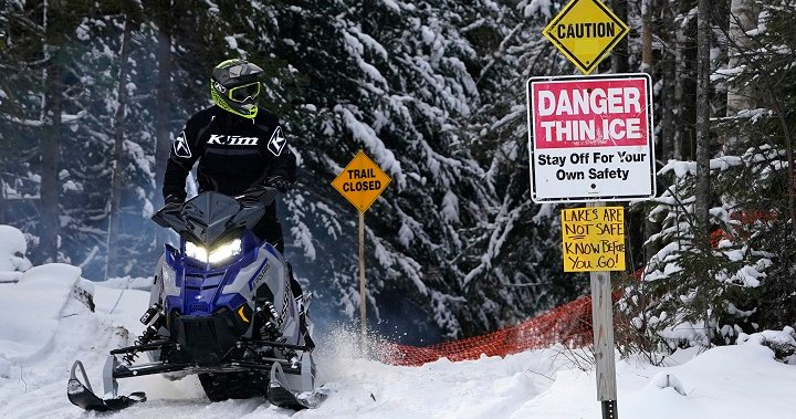 Number of snowmobile riders injured in crashes up 141% so far this season, OPP say