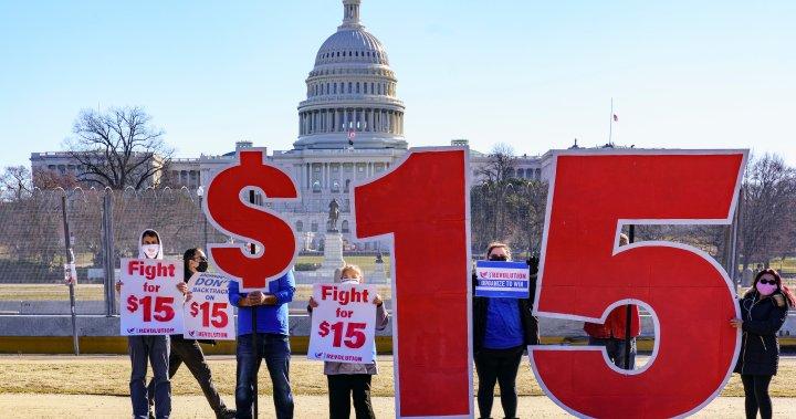 COVID-19 relief bill cannot include $15 minimum wage hike, Senate arbiter says