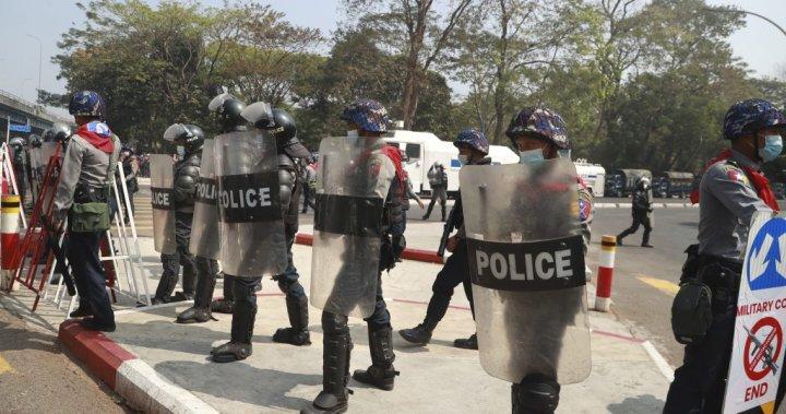 Myanmar police crack down on anti-coup protests as envoy urges U.N. to intervene