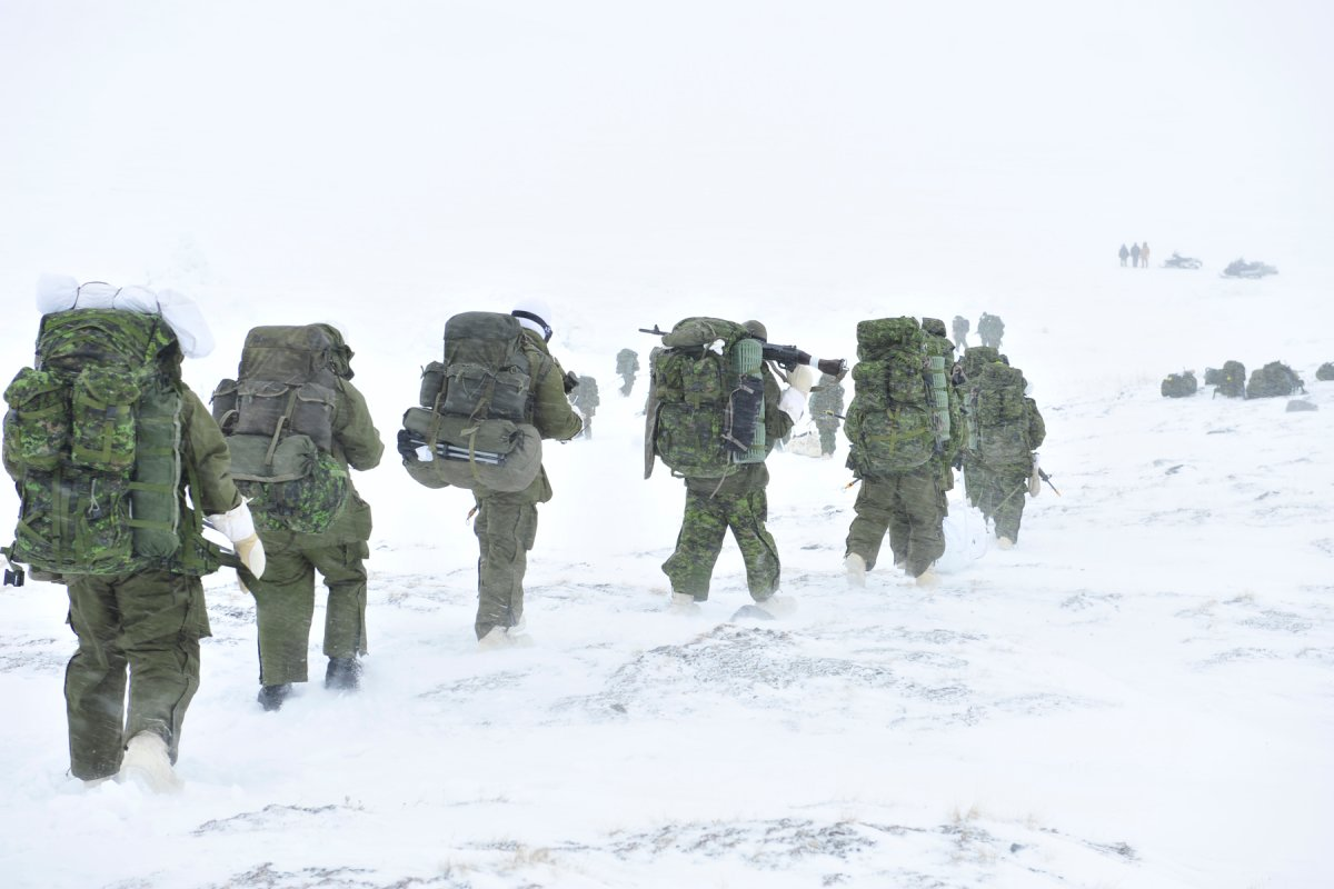 Training activities include patrolling, land navigation, construction of snow defences and survival in a cold weather environment.