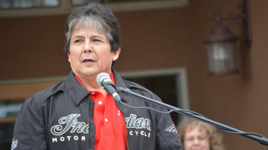 Chief Clarence Louie of the Osoyoos Indian Band was elected to his 14th term as Chief.