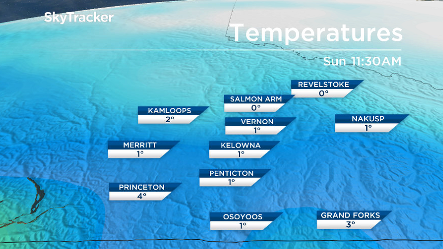 Cooler temperatures will slide in for the first weekend of February.