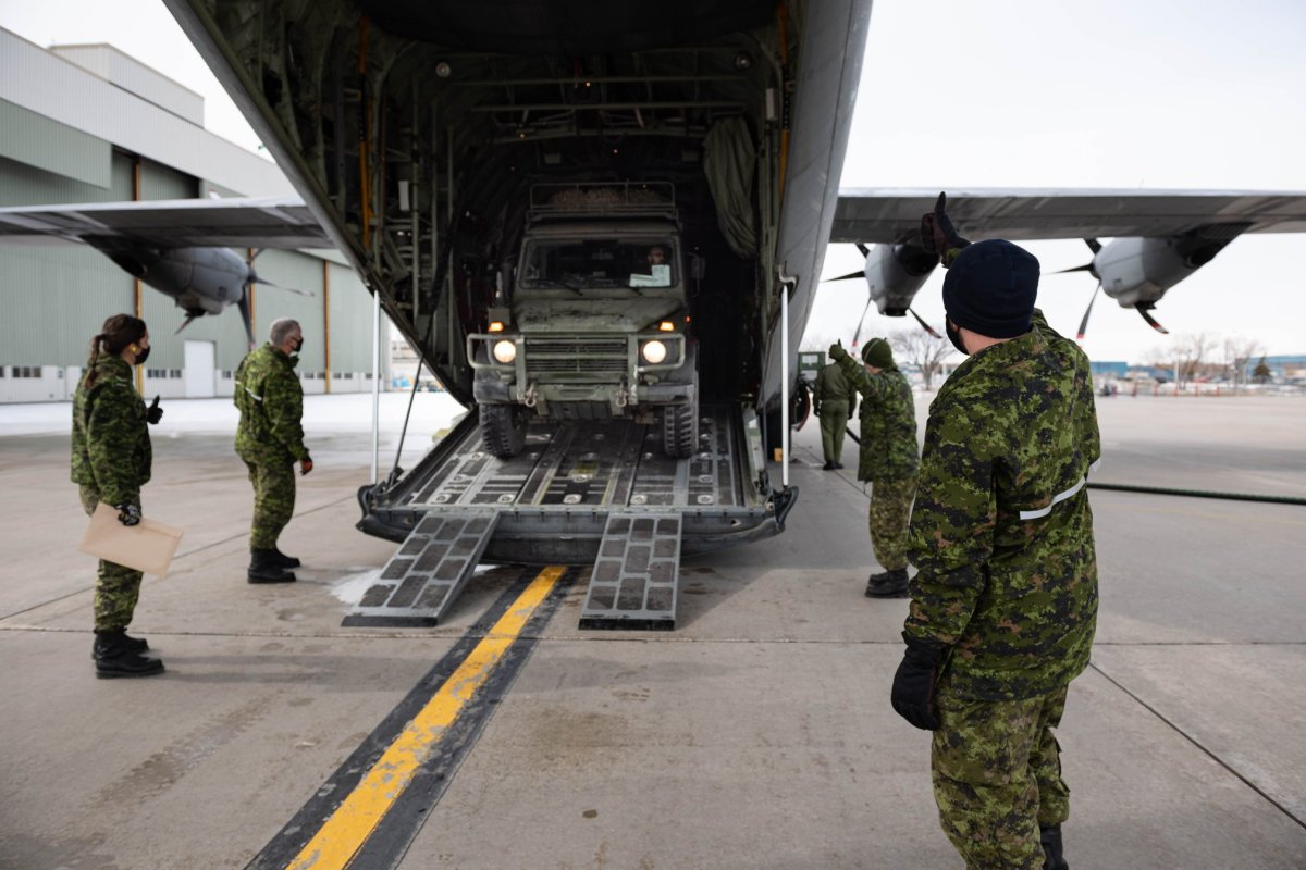 The Canadian Armed Forces arrived in Pimicikamak First Nation Feb. 23 to assisting the community.