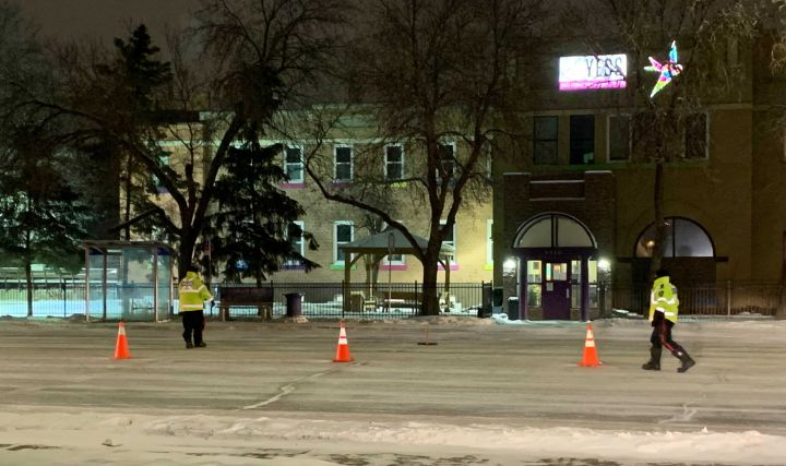 A pedestrian has been taken to hospital with serious injuries after the Edmonton Police Service says he was hit by a vehicle while trying to cross 82 Avenue at 93 Street on Thursday night.