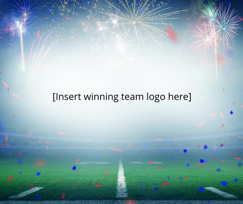 Ottawa Public Health tweeted this supposed placeholder image to congratulate the winners of Super Bowl LV on Sunday night.