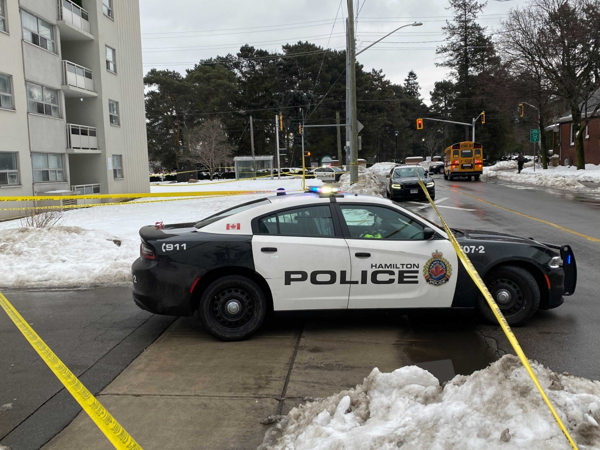 Hamilton police are investigating an incident near Gage Park that has sent two people to hospital.