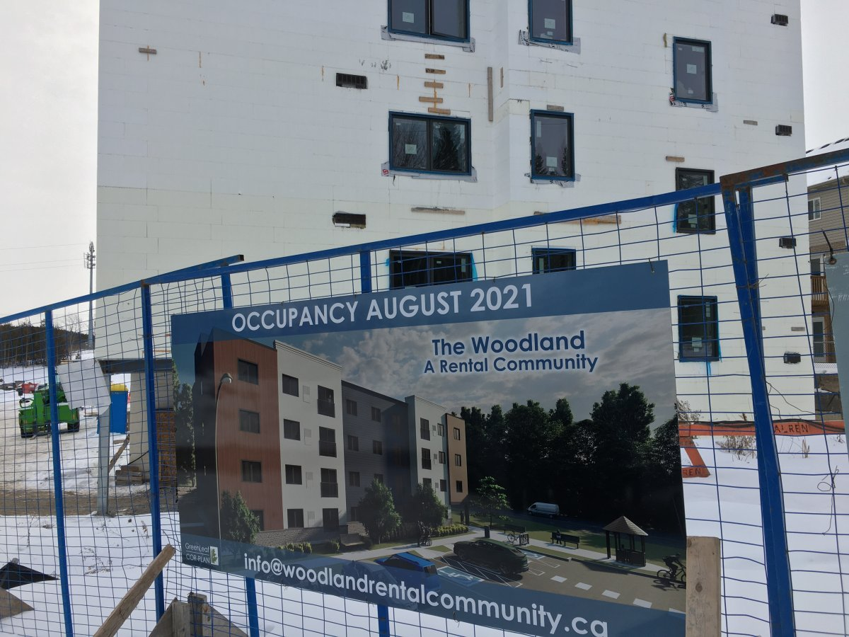 Phase 2 of an affordable housing project on Water St. in Peterborough will feature 46 units.