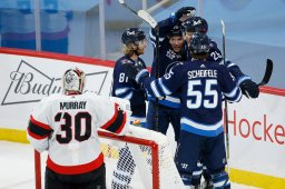 Continue reading: Winnipeg Jets back in win column after 5-1 win over lowly Senators