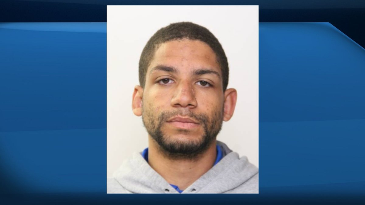 Edmonton police have issued a warrant for Korson Skelhorn, 26, in relation to a series of robberies.