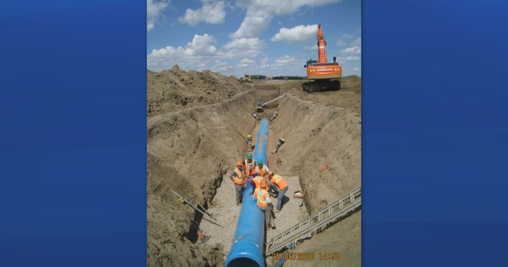 City of Moose Jaw approves additional dollars for unforeseen changes to water pipeline project