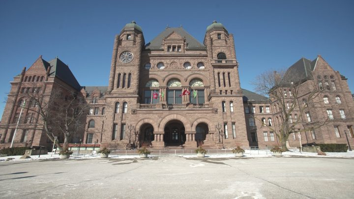 A file photo of Queen's Park.