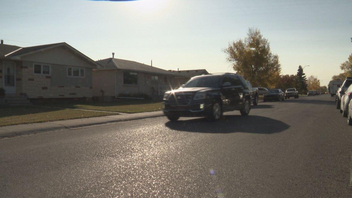 SGI channels Will Ferrell film character to deter motorists from speeding for April's traffic safety spotlight in Saskatchewan.