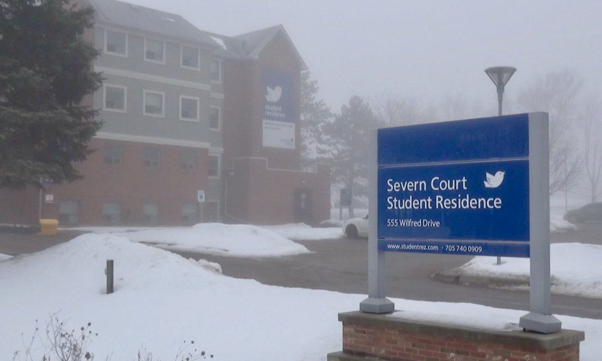 Peterborough Public Health says a man died of a COVID-19 variant of concern in connection to the outbreak at Severn Court Student Residence.