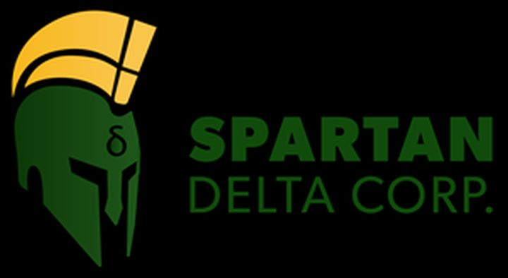 A file photo of the logo for Spartan Delta Corp.