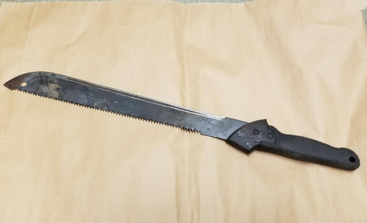 RCMP say one man was injured after an argument at a home in Steinbach escalated to a machete being produced.