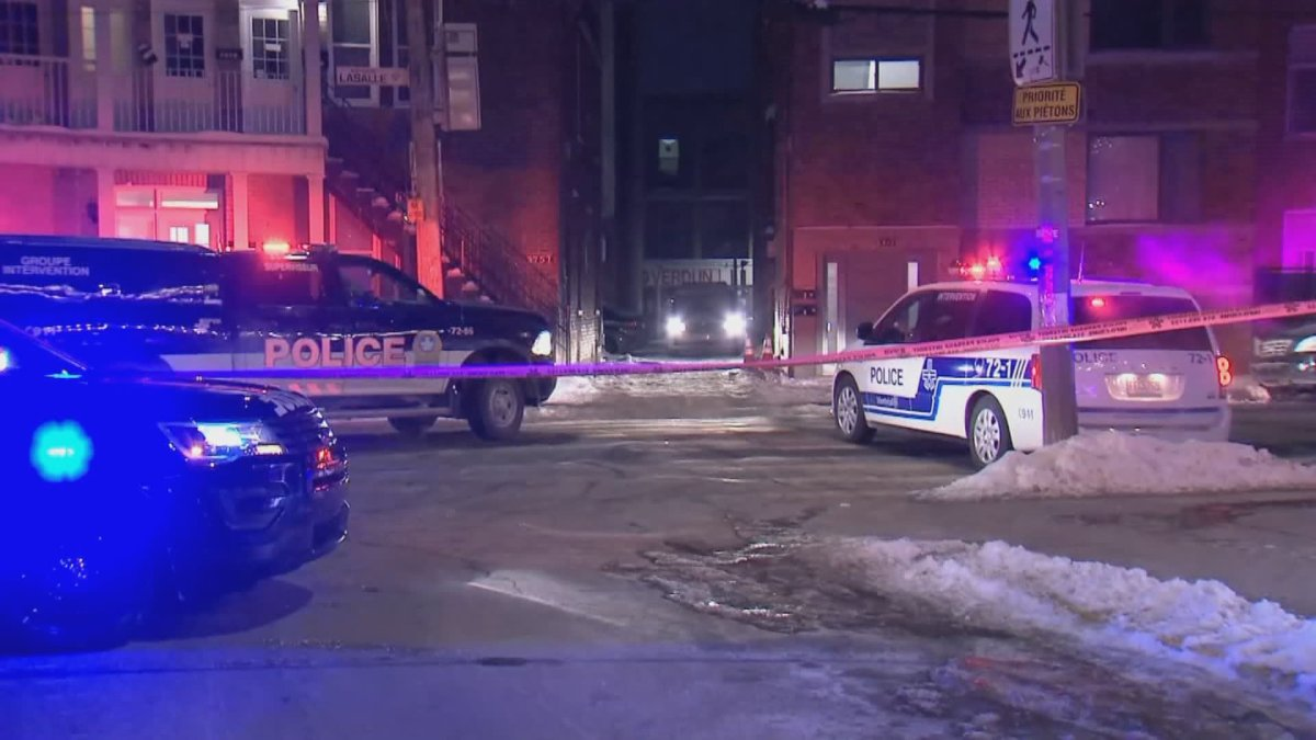 Overnight stabbing in Verdun leaves one man in critical condition Feb.,1, 2021.