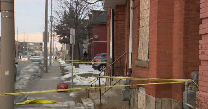 2 charged after infant's body found buried in basement of Hamilton home, police say