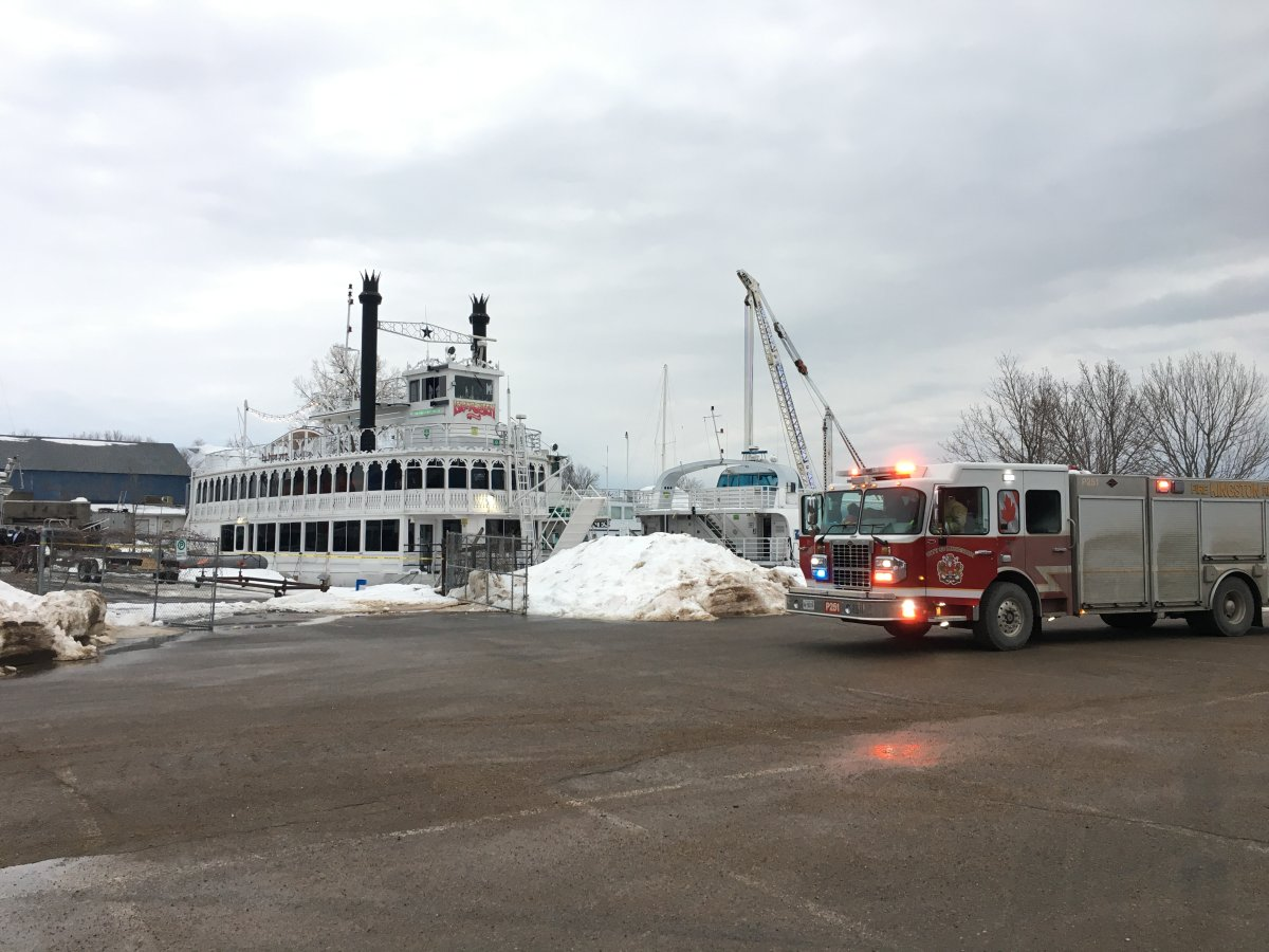 Kingston police say the body found Wednesday in the city's Inner Harbour was Robert Cummings, who went missing late last year.