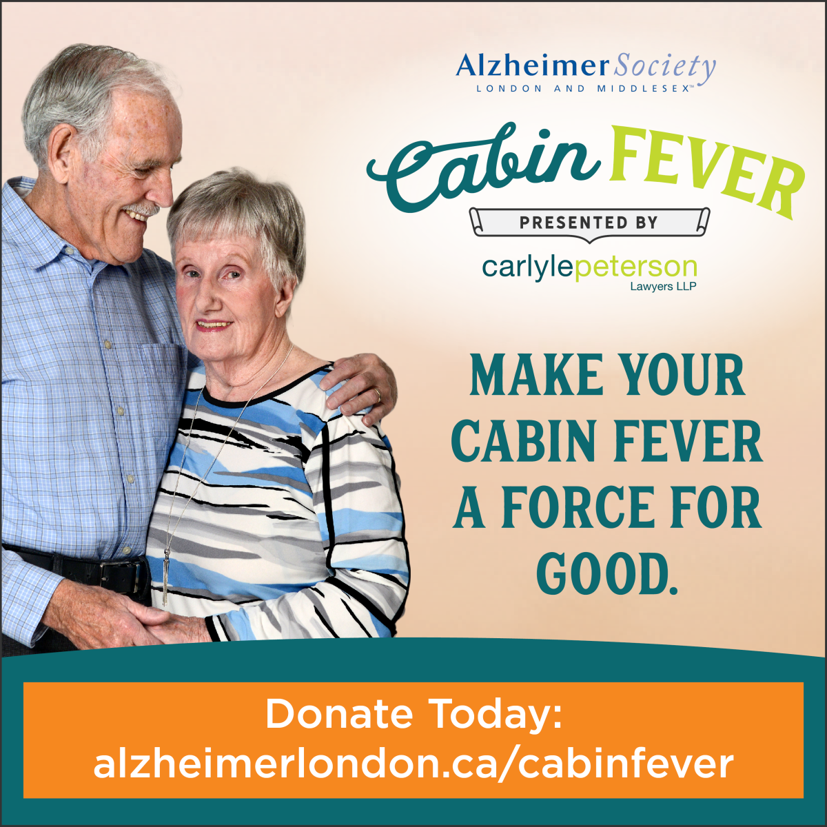 Alzheimer Society Cabin Fever Campaign - image