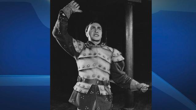 Christopher Plummer as King Henry V in 1956.