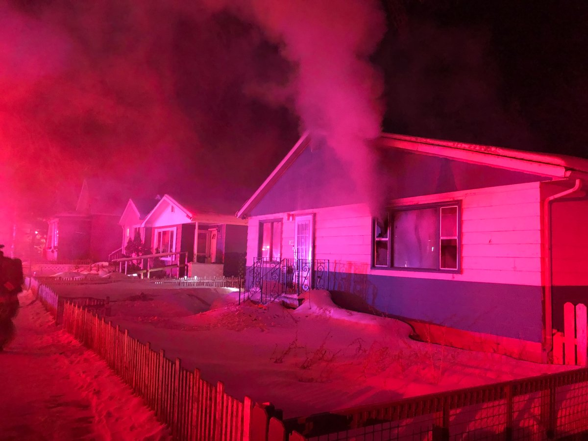 Saskatoon firefighters responded to a fire on Avenue D North early Sunday morning. A battalion chief said several pets died in the blaze but said no other occupants were injured.