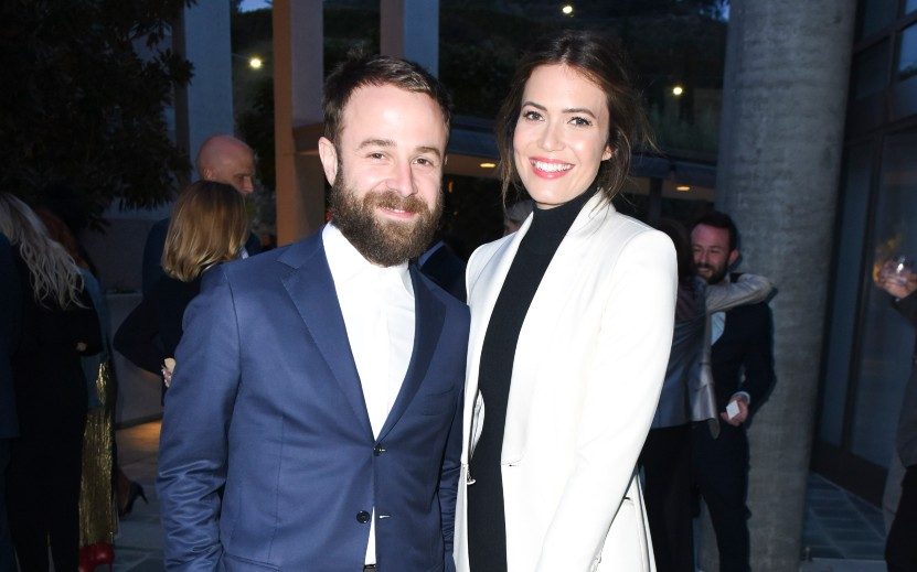 Taylor Goldsmith and Mandy Moore - Getty Images.