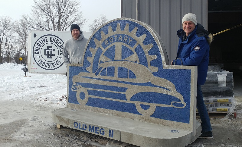 Old Meg II is set to be placed on ice sometime soon. Brockville Rotary Club is asking the public to guess exactly when that'll be.