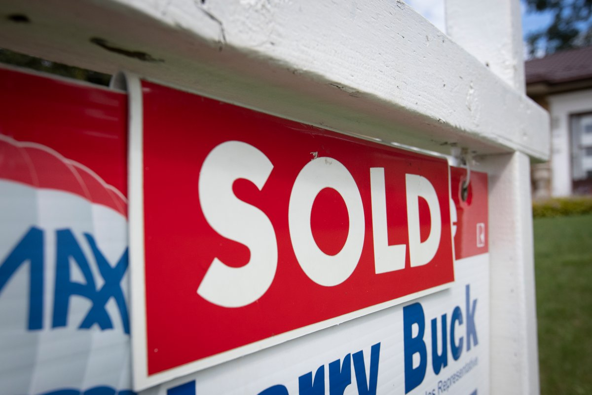 RAHB says 825 homes were sold in January, an increase of 6.9 per cent year-over-year.