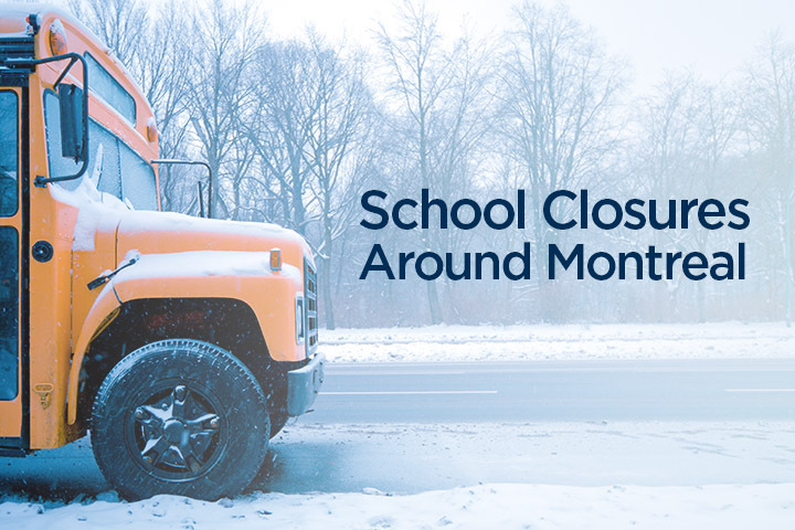 Snow day: School closures in greater Montreal area - image