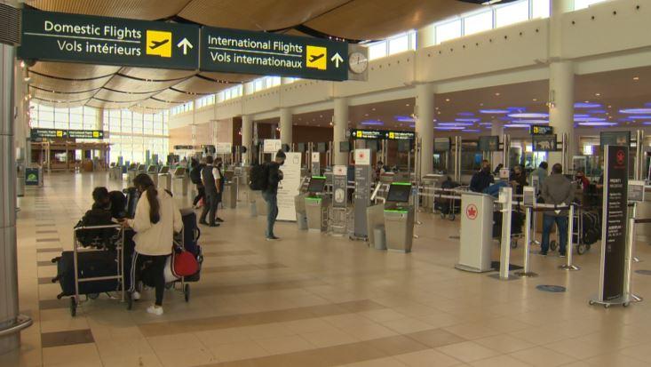 Winnipeg James Armstrong Richardson International Airport - December 2020.