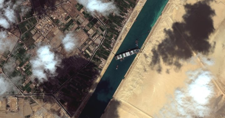 2 tugboats speed to Egypt's Suez Canal to help free huge container ship – National