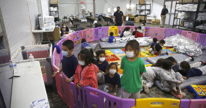 More than 500 migrant children crowded into Texas facility