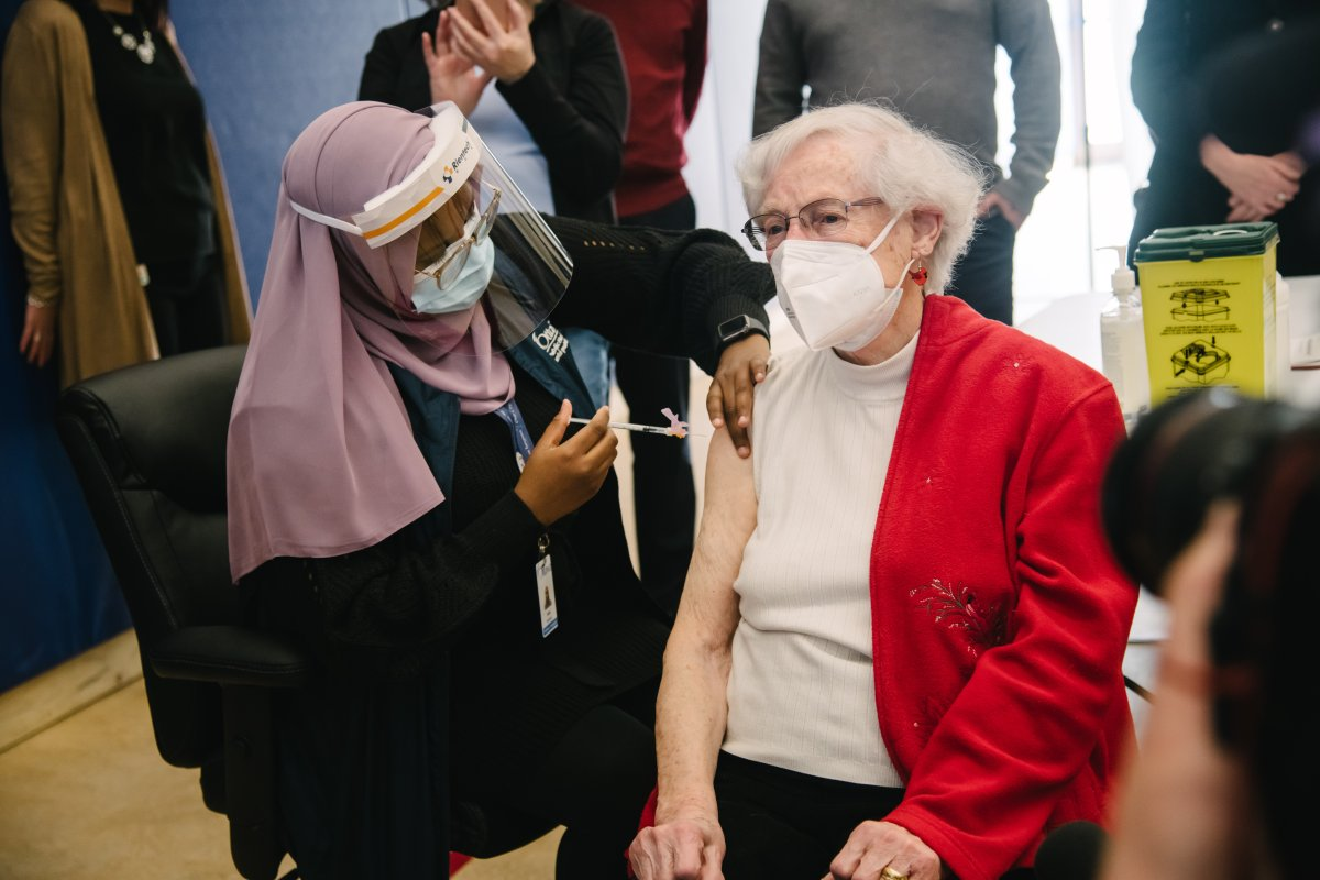 All COVID-19 vaccination appointments at community clinics in Ottawa have been taken up until April 7, according to the city.