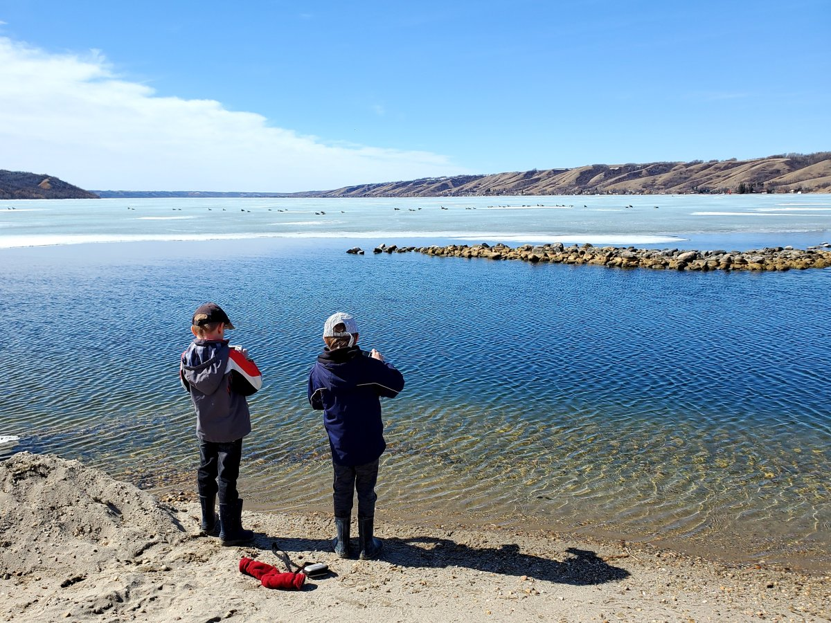 Shane McKnight took the March 31 Your Saskatchewan photo of the day at Pasqua Lake.
